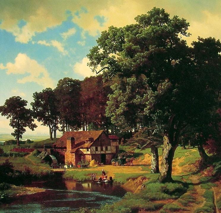 Tablouri cu Peisaje, Pictura peisaje celebre