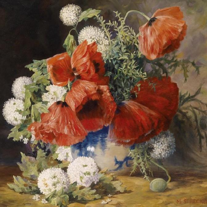 Tablouri cu flori, Pictura Natura moarta, Natura statica