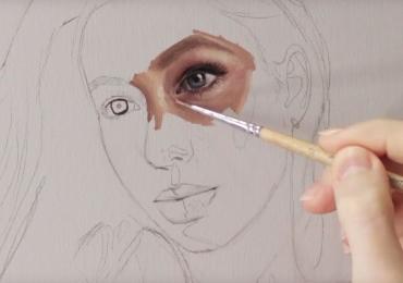 Portret la comanda. Atelier de pictori profesionisti, tablou pictat manual in ulei pe panza,