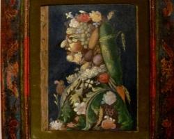 A Noble Lady, Giuseppe Arcimboldo, Tablouri cu legume si fructe Realizate la Comanda