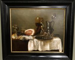 Attributed to Pieter Claesz Still life, Tablouri cu argintarie si sunca Realizate la Comanda, Repro
