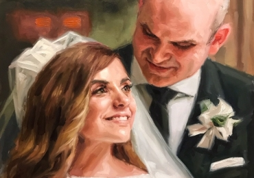 Cele mai reusite portrete la comanda, Tablouri pictate manual, Portret de nunta, portret de mireasa, portret de femeie, portret cuplu