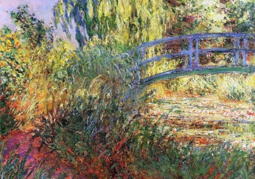 Claude Monet Bassin aux nymphas le pont Peisaje celebre, Reproducere dupa pictor celebru