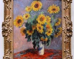 Claude Monet, Bouquet of Sunflowers 1881, Tablouri cu floarea soarelui Realizate la Comanda,