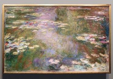 Claude Monet Lo stagno delle ninfee, Tablou cu tema abstracta, tablou inmpresionist, tablou sufragerie, tablou dimensiune mare, tablou cu flori