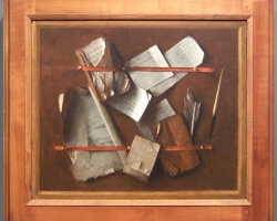 Cornelis van der Meulen, Letter rack, 1673, Tablouri cu scrisori Realizate la Comanda, Reprodu