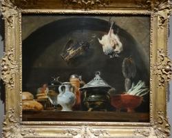 Frans Snyders Kitchen still life, Tablouri cu flori Realizate la Comanda, Reproduceri Picturi Cel