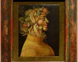 Giuseppe Arcimboldo, Tablouri cu flori Realizate la Comanda, Reproduceri Picturi Celebre cu le