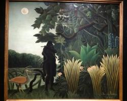 Henri Rousseau La charmeuse de serpent, tablou peisaj de vara, Tablouri Pictori Celebri, Reproduceri Picturi Celebre