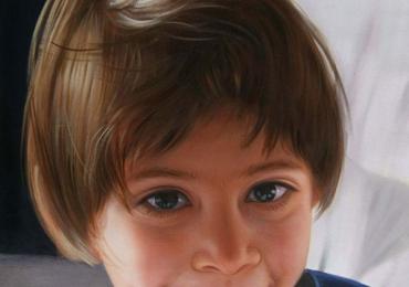 Idei de cadouri de casa noua, portrete la comanda, Tablou pictat dupa poza