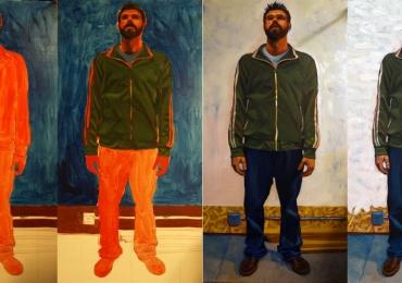 Idei de cadouri in functie de ocazie, portrete la comanda, Tablouri pictate portrete, portret de barbat