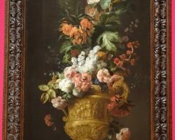 Jakob Bogdan, Flowers in Vase, Tablouri cu flori Realizate la Comanda, Reproduceri Picturi Cel