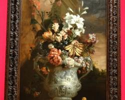 Jakob Bogdani, Flowers in a Vase, Tablouri cu flori Realizate la Comanda, Reproduceri Picturi C