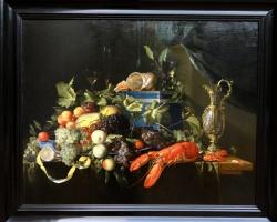 Jan Davidsz de Heem, Still life with fruit and lobster, Tablouri cu flori fructe si homari, Realizat