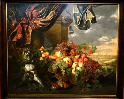 Jan Fyt Still life with fruit and monkey, Tablouri cu fructe Realizate la Comanda, Reproduceri Pi