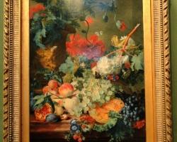 Jan van Huysum Fruit and flowers, Tablouri cu flori s fructe de toamna Realizate la Comanda, R
