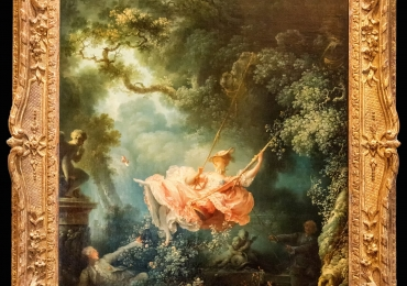 Jean-Honoré Fragonard El columpio,Leagănul, cunoscut și sub numele de The Happy Accidents of the Swing