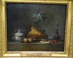 Jean-Simeon Chardin, The Brioche, Tablouri cu briosa fructe si coniac Realizate la Comanda, R