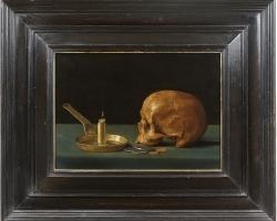 Johann Stumm Stile life, Tablouri cu craniu si lumanare Realizate la Comanda, Reproduceri Pict