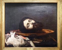 José de Ribera Head of the Baptist, around 1644, Tablouri cu un cap decapitat Realizate la Coma