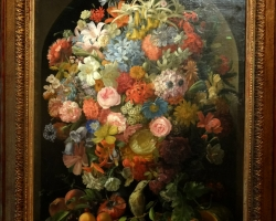 Leopold Stoll Flowerpiece, Tablouri cu flori Realizate la Comanda, Reproduceri Picturi Celebre