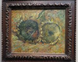 Les Tournesols  1887, Vincent van Gogh, Natura statica cu foarea soarelui  tablou cu flori galbene, tablou floral