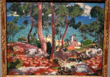 Maurice Denis Eurydicetablou peisaj de vara, tablou cu peisaj marin cu femei pe plaja, Tablouri Pictori Celebri, Reproduceri Celebre