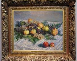 Monet Natura morta con frutta,Tablou natura moarta, tablou natura statica