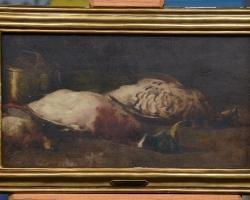 Natura moarta cu pasari, tablou cu rate salbatice, Tablouri cu flori Realizate la Comanda, Reprod