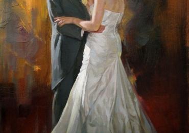 Nunta de vis,Tablouri la comanda cluj, portrete la comanda, Tablouri pictate personalizate