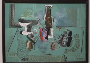 Pablo Picasso, Tablou cu natura moarta, tablou cu natura statica, tablou reproducere celebra