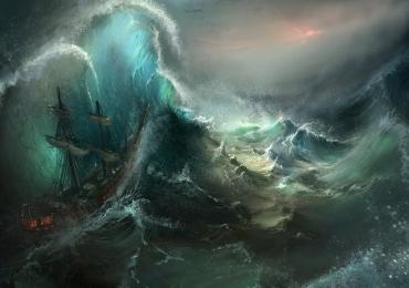 Peisaj marin, peisaj cu mare, peisaj cu valuri, peisaj cu furtuna, peisaj