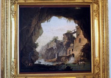 Peter Holland,  tablou peisaj superb de vara, Reproduceri pictori celebri, tablou clasic