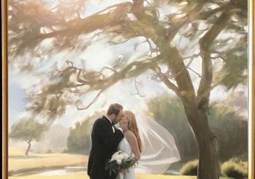 Pictez tablouri la comanda, portrete la comanda, Tablouri pictate personalizate, portret de nunta