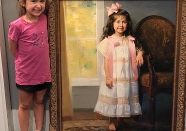 Pictori profesionisti realizam portrete pictate manual in ulei pe panza
