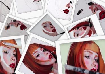 Pictura office. tablouri personalizate. Portrete pictate manual dupa poza. Pret m