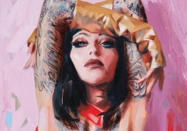 Picturi la comanda, tablou cu portret, Tablouri pictate pe panza,  picturi dupa poze, portret modern, portret abstract dupa fotografia ta