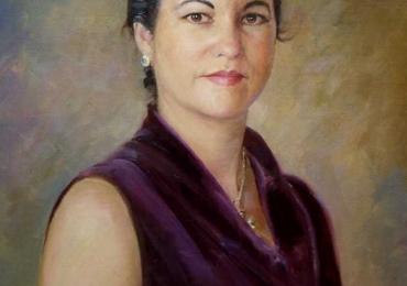 Picturi realizate la comanda speciala, Tablouri pictate personalizate, portret de femeie, portret de mama, portret pentru sotie
