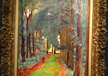 Pierre Bonnard L'Allee d'arbrestablou peisaj de vara, tablou impresionist, Tablouri Pictori Celebri, Reproduceri Picturi Celebre