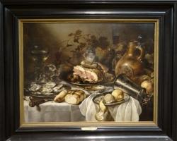 Pieter Claesz, Nature morte au jambon, Tablouri cu natura moarta Realizate la Comanda, Reprod