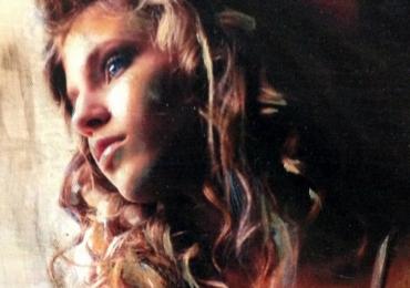 Portret abstract de femeie. Portret la comanda dupa fotografia Dvs. Pret portret