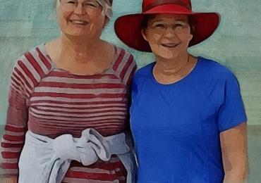 Portret acuarela, Portret cu bunici, portret cu batrani, portret cu parinti