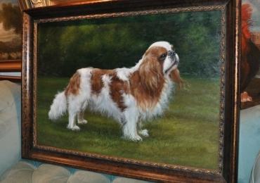 Portret animal de companie, portrete de caini, tablou cu animale salbatice, tablouri cu