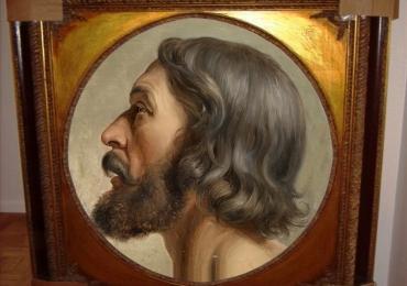 Portret barbat. Portrete la comanda cu barbati. Portret de barbat, portret reproducere celebra