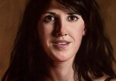 Portret bust Idei cadouri potrivite pentru ea, portrete la comanda, Tablou pictat pe panza