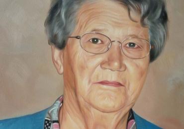 Portret cu bunici, portret cu batrani, portret cu parinti, portret de femeie cu ochelari