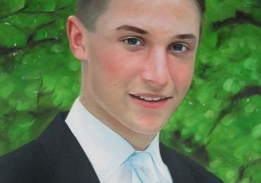 Portret de barbat, portret de iubit, portret de adolescent, portret de tata, portret de fiu, idei de cadouri majorat