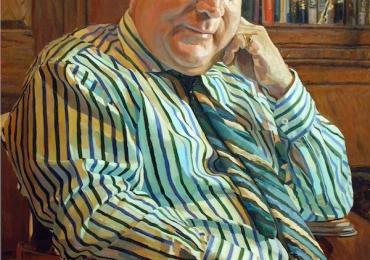 Portret de barbat, portret de sot, portret de adolescent, portret de tata, portret de iubit, portret de prietenIdei de cadouri pentru doctori, portrete la comanda, Tablou pictat dupa poza bunicului