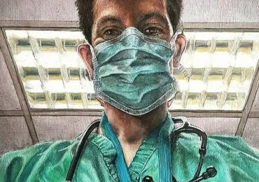 Portret de doctor, portrete la comanda, Tablouri pictate in ulei, Portrete pictate, portrete cu medici
