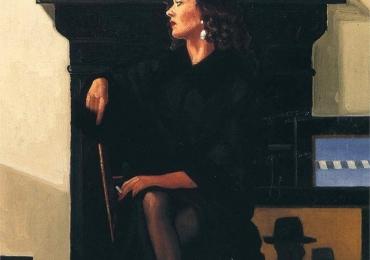 Portret de femeie in fata semineului. Portrete figurative. Portret la comanda
